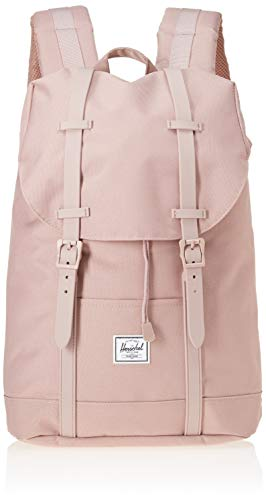 Herschel Unisex-Erwachsene Retreat Mid-Volume Multipurpose Backpack, Esche Rose/Esche Rose Gummi