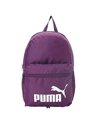 PUMA Unisex– Erwachsene Phase Backpack Rucksack, Plum Purple, OSFA
