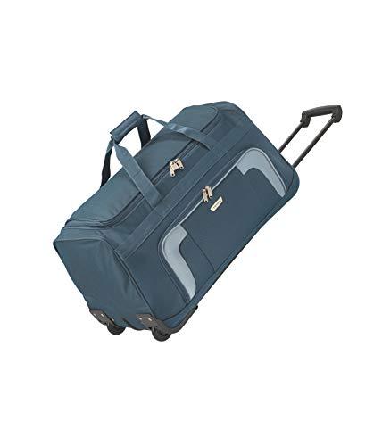 Gepäck Serie ORLANDO: Klassische Weichgepäck Reisetasche mit Rollen von travelite im zeitlosen Design, 2-Rad Trolley Reisetasche, 098481-20, 73 Liter, 2,7 kg, Marine (Blau)