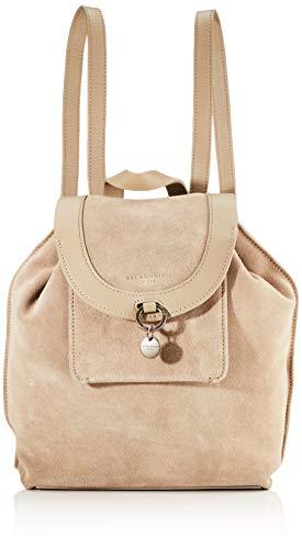 Liebeskind Berlin Damen Scouri 2 - Backpack Medium Rucksackhandtasche, Beige (Taupe), 15x33x27 cm