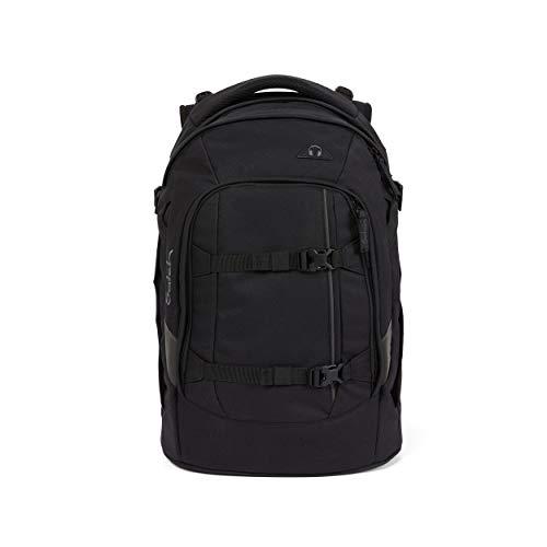 Satch pack Schulrucksack - ergonomisch, 30 Liter, Organisationstalent - Blackjack - Black