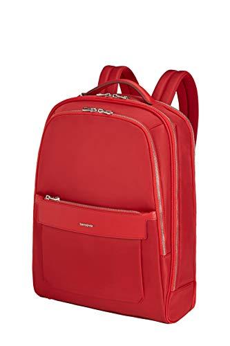 Samsonite Zalia 2.0-15.6 Zoll Laptoprucksack, 41 cm, 18 L, Rot (Classic Red)
