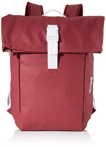 BREE Unisex-Erwachsene PNCH 93 backpack M Rucksack, Rot (Rhododendron), 12x46x41 cm