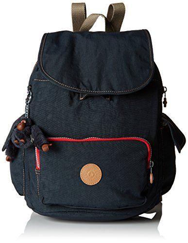 Kipling Damen CITY PACK S Rucksack, Blau (True Navy C), 27x33.5x19 cm