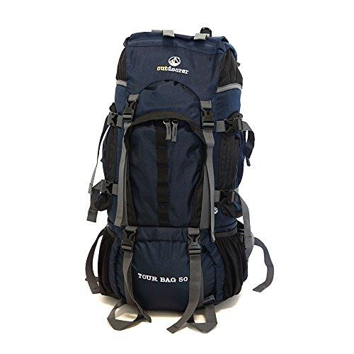 outdoorer 50L Tourenrucksack Handgepäck geeignet - Tour Bag 50