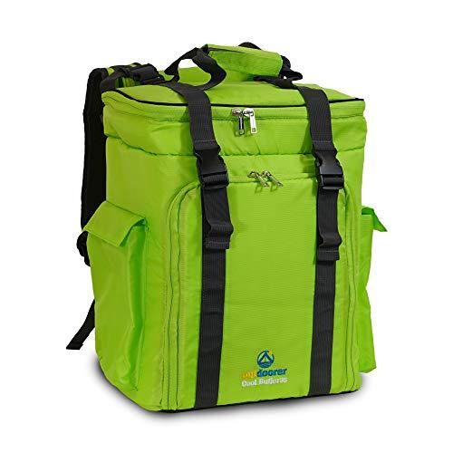 outdoorer großer Kühlrucksack Cool Butler 35 - Kühltaschenrucksack, isolierter Thermo-Rucksack für Camping, Picknick, Strand oder zum Wandern