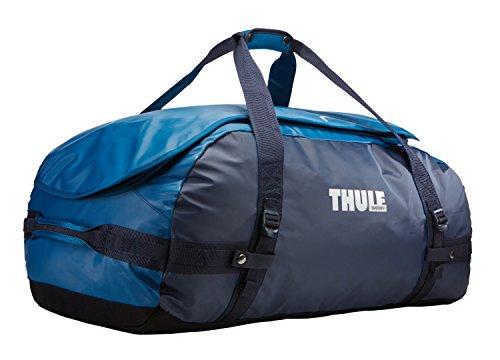 Thule Chasm Duffel Bag 70L (Rucksack und Reisetasche in einem) Blau (Poseidon), Erwachsene