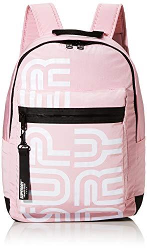 Superdry Damen Nostalgia Backpack Rucksack, Pink (Pale Pink), 35x20x45 cm