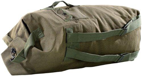 Xcase großer Seesack: Extragroßer Canvas-Seesack, 100 Liter (Canvas Reisetasche)