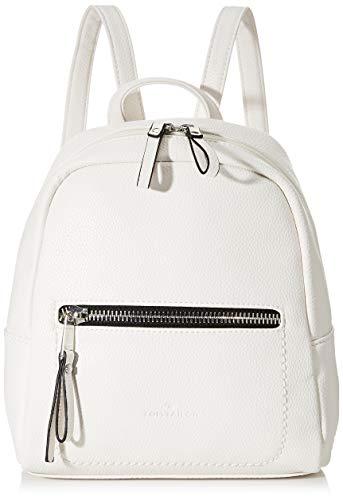 TOM TAILOR Acc Damen Tinna Flash Rucksackhandtasche, Weiß (Weiß), 24x25x10.5 cm