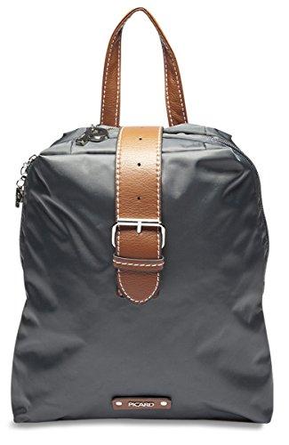 Picard Sonja Damen Rucksack 2145 Backpack City-Rucksack 25x29x8 cm (BxHxT), Farbe:Anthrazit