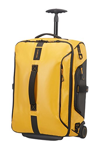Samsonite Paradiver Light - Reisetasche S (2 Rollen) Rucksack, 55 cm, 51 L, gelb (Yellow)
