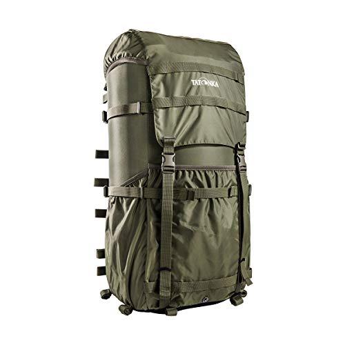 Tatonka Unisex– Erwachsene Packsack 2 Lastenkr Kraxe, Olive, 66 x 34 x 25 cm
