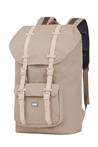 blnbag U2 - Rucksack mit gepolstertem Laptopfach, Reiserucksack Handgepäck 20 Liter, Leichter Backpack Unisex 46 cm – Beige