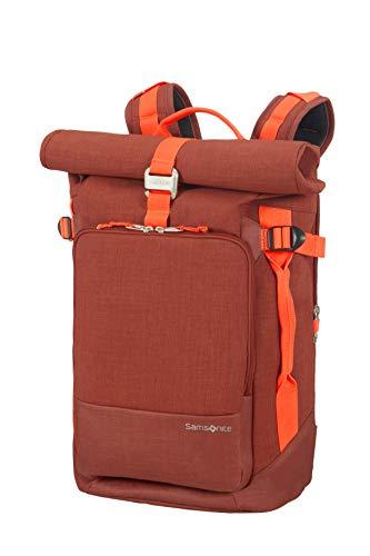 SAMSONITE Ziproll - Laptop Backpack Medium Rucksack, M (42cm-26.5L), Orange (Burnt Orange)