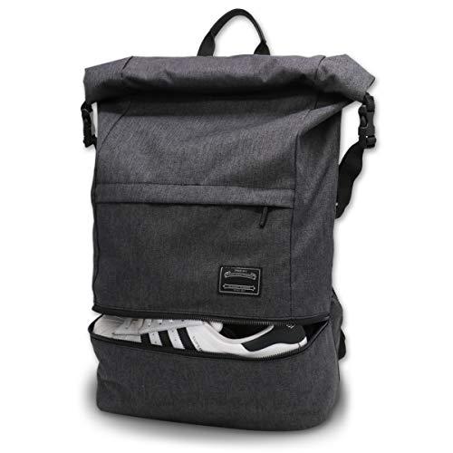Sporttasche für männer Frauen, Umhängetasche für das Fitnessstudio, Reiserucksack,Gym Bag 3 in 1 Design mit Schuhfach, Gym Tasche wasserdicht und leicht