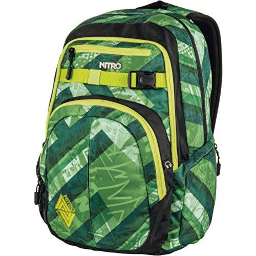Nitro Uni CHASE Rucksack, Wicked Green, 35L