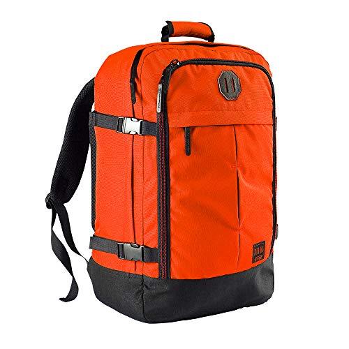 Cabin Max Handgepäck Rucksack 44 Liter - Leichtgewicht Reiserucksack für das Flugzeug Bordgepäck 55x40x20 cm - Robuster & praktischer Backpack - Hochwertiger Kabinenkoffer (Vintage Orange)