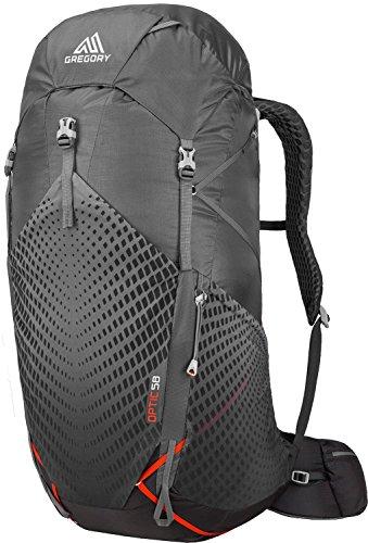 Gregory Herren Optic 58 LG Backpack, Lava Grey, REG