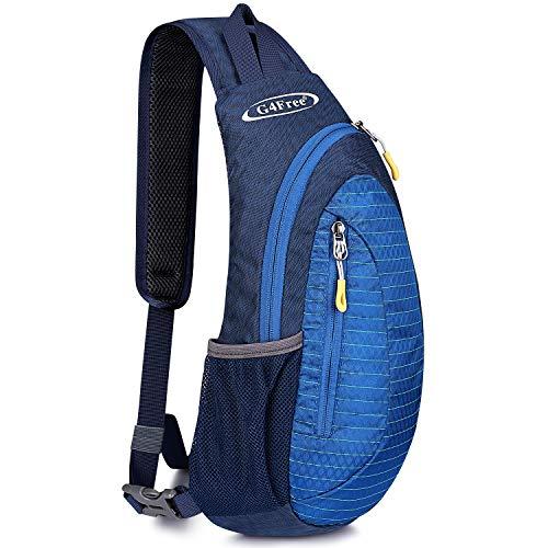 G4Free Leichte Brust Sling Schulter Rucksäcke Nette Umhängetasche Dreieck Pack Rucksack zum Wandern Radfahren Reisen oder Multipurpose Tagepacks