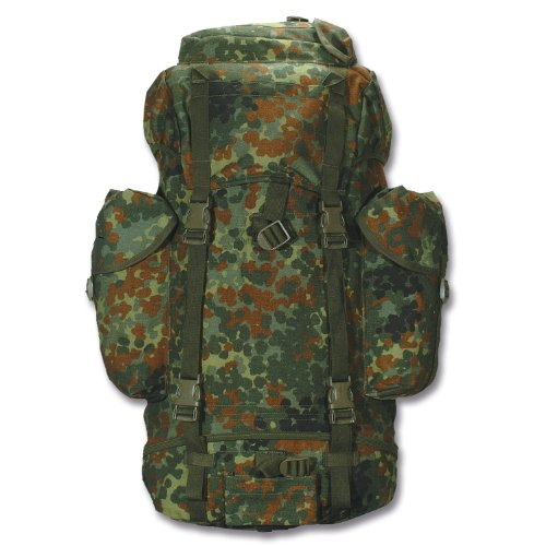 BW Bundeswehr Kampfrucksack flecktarn Original neu