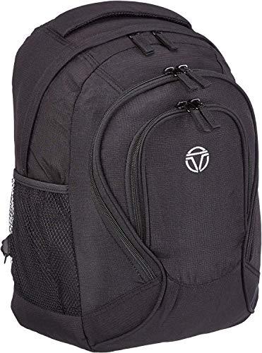 Gepäck Serie BASICS Daypack: Funktionaler travelite Rucksack, Handgepäck Rucksack für Reise, Freizeit und Sport, 096245-01, 41 cm, 22 Liter, schwarz